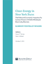 Analysis Group Summary for Policymakers