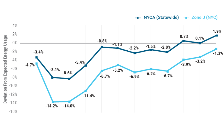 Figure 2: 2020-2021 Electric Energy Usage