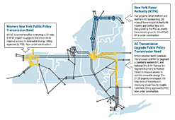 Figure 17: New Transmission Projects in New York State