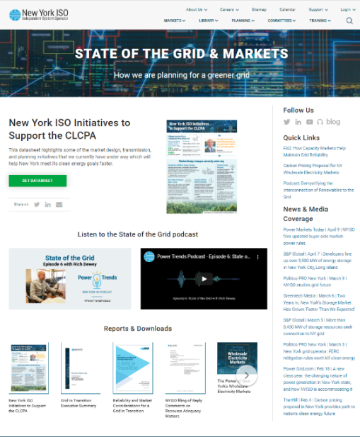 State of the Grid & Markets: How are we planning for a greener grid?