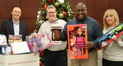 NYISO Participating in Toys for Tots