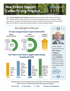 New Yorkers Support Carbon Pricing Proposal